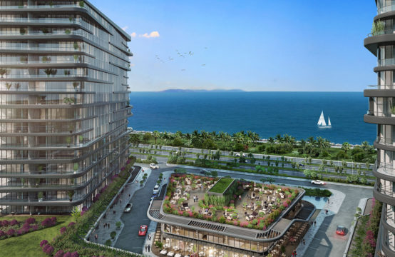 Magical view overlooking the Sea of Marmara